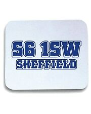 Tappetino Mouse Pad WC1071 sheffield-wed-postcode-tshirt design