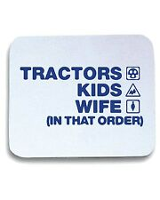 Tappetino Mouse Pad WC1079 tractors-kids-wife-order-tshirt design