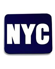 Tappetino Mouse Pad OLDENG00349 nyc new york city white