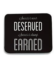 Tappetino Mouse Pad CIT0191 Robin Sharma Success Is Always Earned