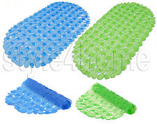 HIGH QUALITY Large Strong Suction ANTI NON SLIP Bath Shower Mat BATHROOM PEBBLE