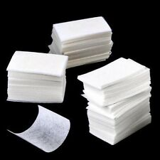 Gel Tips Cotton Pad Nail Polish Remover Cleaner Manicure Lint Free Paper Box Art