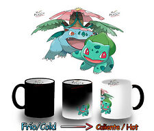 TAZA MAGICA BULBASAUR VENUSAUR POKEMON POKEMONS MAGIC MUG tasse es