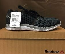 Reebok Zprint Run Men's Running/Course Shoes PICK SIZE ~BLACK/GRAVEL V69629