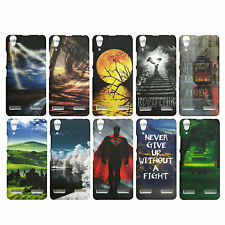 Stylish Printed Back Cover Case For Lenovo A6000 plus / A6000 (Item code-EB)