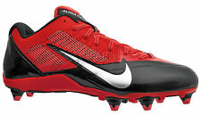 New Nike Alpha Pro Low D Mens Football Cleats Detachable Studs - Red