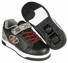 Chaussures à Roulette Heelys Dual Up Black/Grey Elephant - PROMO