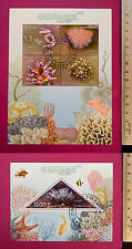 Wild Animal CORALS 2014 CONGO perf. Sheetlet CTO Excellent NH PostFromUK