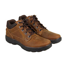 Skechers Resment Chukka Boot Mens Brown Leather Casual Dress Boots Shoes