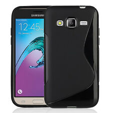 Accessori Cover Custodia TPU Silicone Gel S-Line Samsung Galaxy J3 (2016) J320F