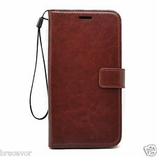 Bracevor Sony Xperia Z L36H Wallet Leather Case Flip Cover - Executive Brown
