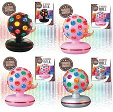 "New 6"" Rotating Disco Ball BJ Christmas Party Stage Club Girls Disco Dance Xmas"