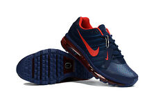Nike Air Max 2017 Men's Dark blue and Red Sneakers Running Trainers Shoes