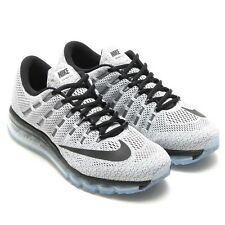 Nike Air Max 2016 Mens Size Running Shoes White Black 806771 101