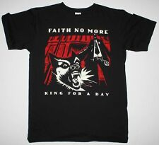 Faith No More King For A Day Mike Patton Mr.Bungle Fantomas NEW Black T-Shirt