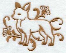 DOG TOWEL   EMBROIDERED     4 COLOURS 12 BREEDS  BNWOT CHIHUAHUA