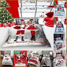 New Xmas Duvet Set,Santa Selfie/Elf/Selfies for Xmas Duvet Cover,Bed Set(GC)