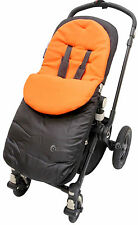 Footmuff / Cosy Toes Compatible with Buggy/Pushchair/Pram Orange