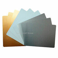 Blank Aluminium Metal Sheets Signs 150x100mm Dye Sublimation Printing