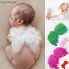 Newborn Baby Wings Clothes Skirt Kids Baby Angel Photo Photography Prop Outfit