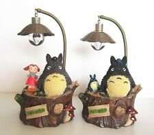 My Neighbour TOTORO Studio Ghibli Resin Figure Anime Table Lamp Light Xmas Gift