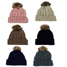 Ladies 60711 Pom Pom Hat By Di Lusso Collection £4.99