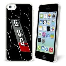 funda carcasa Iphone 3GS-4-4S-5-5S-SE-5C-6-6plus + 1 LÁMINA árbitro 411 : AUDI
