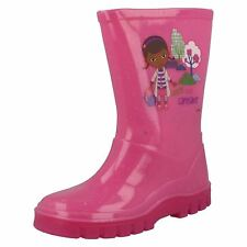 Girls Doc McStuffins Pink Wellingtons by Disney - Retail Price: £5.99
