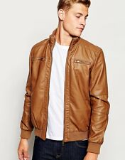ADARGA Genuine Lambskin Leather Designer Bomber Winter Jacket for Men's