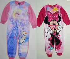 Frozen o Minnie Mouse tuta in pile Disney Ragazza 104,110,116,128,134,140