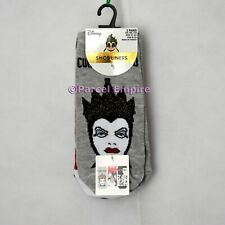 FREE NEXT-DAY Disney BAD GIRLS Villains Beauty and The Beast SOCKS Ladies Gift