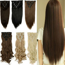 32mm Brown U Shape Snap Metal Clips For Hair Extensions Weft Clip-on Wig 5Pcs