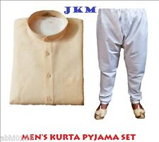 New JKM Royale Designer Kurta Pajama Set For Men 100% Cotton (Peach Color)