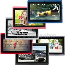 "8GB 7"" Google Android 4.4 Tablet PC Per Bambini Dual Camera scheda WiFi Regalo"