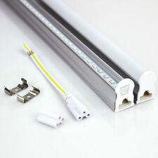 1-25Pack 4FT Integrated T5 T8 LED Lamp Fluorescent Replace Tube Light Warm/