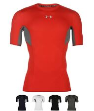 SCONTO Under Armour HeatGear CoolSwitch Short Sleeve T Shirt Mens Black