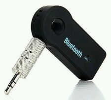 Car Bluetooth Receiver Adapter 3.5MM AUX Audio Stereo Music Home Hands