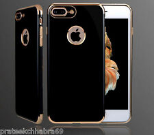 Apple iPhone 7-Luxury Ultra Thin Glossy Soft Shine TPU Back Cover Case
