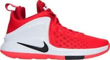 Men's Nike LeBron Zoom Witness Basketball Shoes Red/Black/White 852439 600