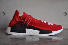 "Adidas NMD Pharrell Williams Human Race ""Hu Race"" Scarlet Red - Black/White"