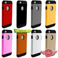 PROTECTIVE HARD ARMOR SLIM BACK CASE COVER FOR APPLE iPHONE6 /6s/ 7PLUS