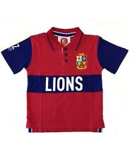 British and Irish Lions Rugby Kids' Classic Polo Shirt | 2017 Tour | Red