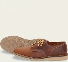 Red Wing  Mens Shoes 3303 Oxford Weekender Collection Copper Rough & To..-Brown