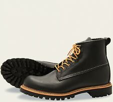 Red Wing  Mens Boots 2930 Ice Cutter Heritage Work Black Otter Tail  -Black