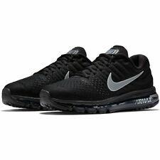 Men's Nike Air Max 2017 Running Shoe 849559-001 BLACK/WHITE-ANTHRACITE