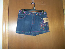 Route 66 Denim Shorts with stitched Butterfly NWT  XL 16