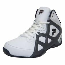 Men's Fila Revenge Basketball Shoes White Charcoal Size 8-13 Sneakers (104)