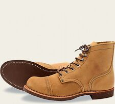 Red Wing  Mens Boots 8113 Iron Ranger Heritage Work Hawthorne Muleskinner -Tan