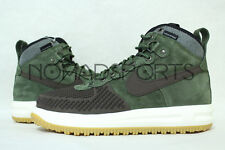 NIKE LUNAR FORCE 1 DUCKBOOT ARMY OLIVE BRAND NEW 805899-200 MENS SIZES