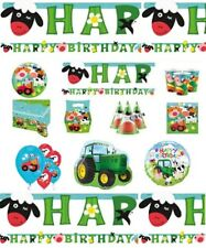 Farm Fun Birthday Party Supplies Party Decoration Tableware Plates Cups Napkins